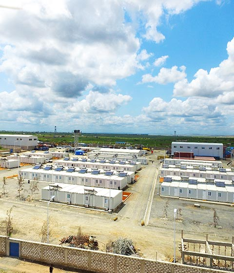 Modular Construction Camp