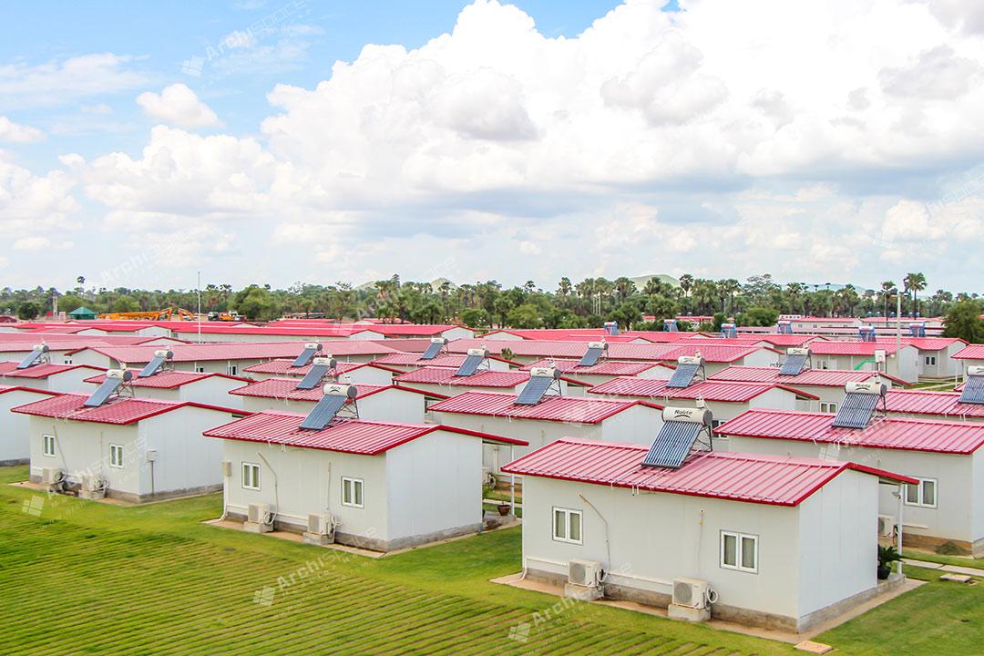 Prefabricated Worksite Buildings – Myanmar
