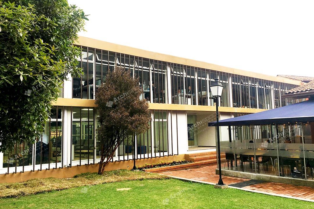 Prefabricated School Building – Colombia
